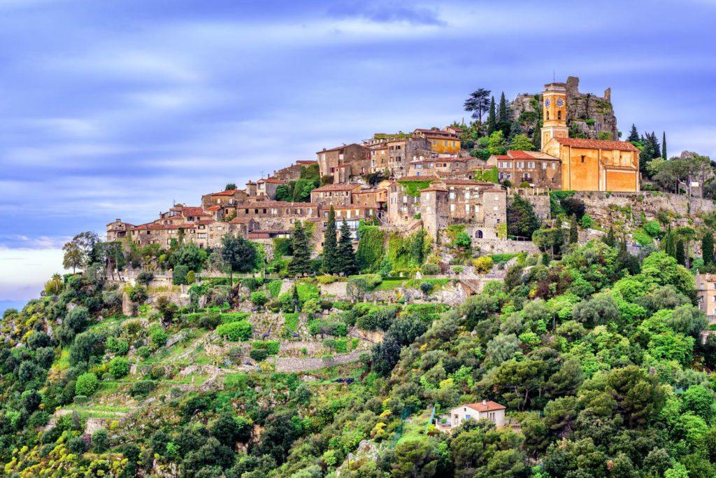 french riviera villages