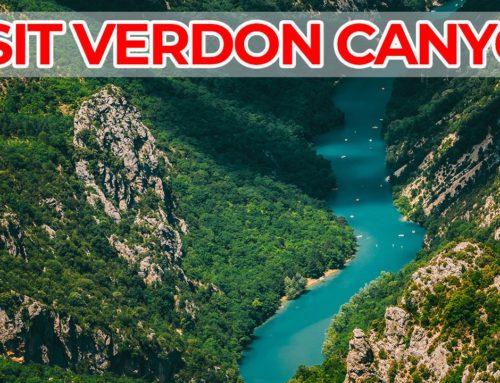 Visiter les Gorges du Verdon France